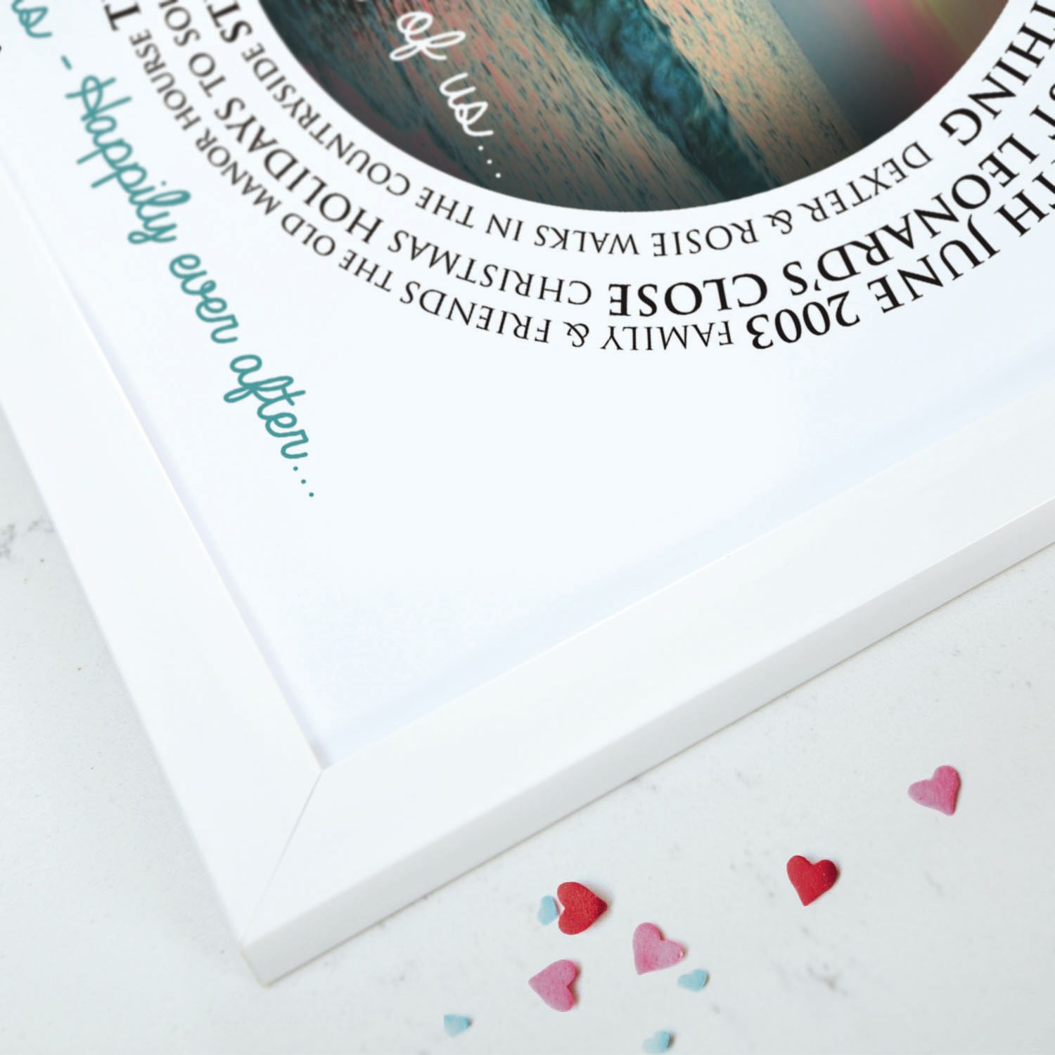 Personalised The Story Of Us Art